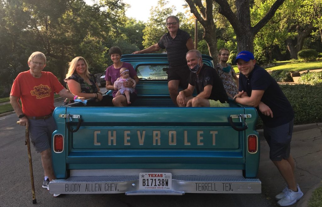 Buddy Allen Chevrolet - 1965 C10 McMillan family photo