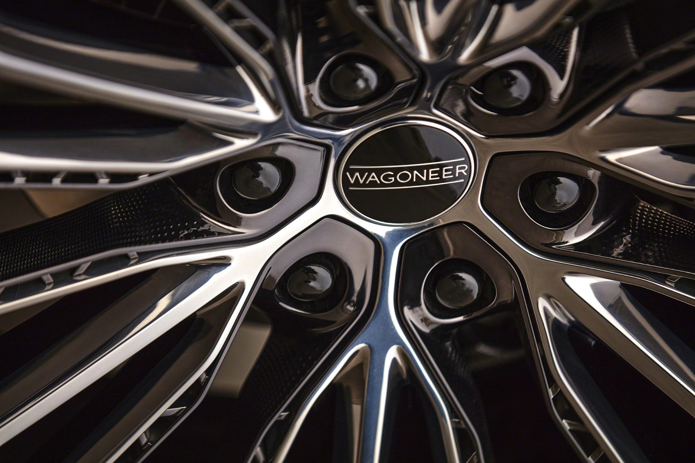 Grand Wagoneer Concept wheel close--up