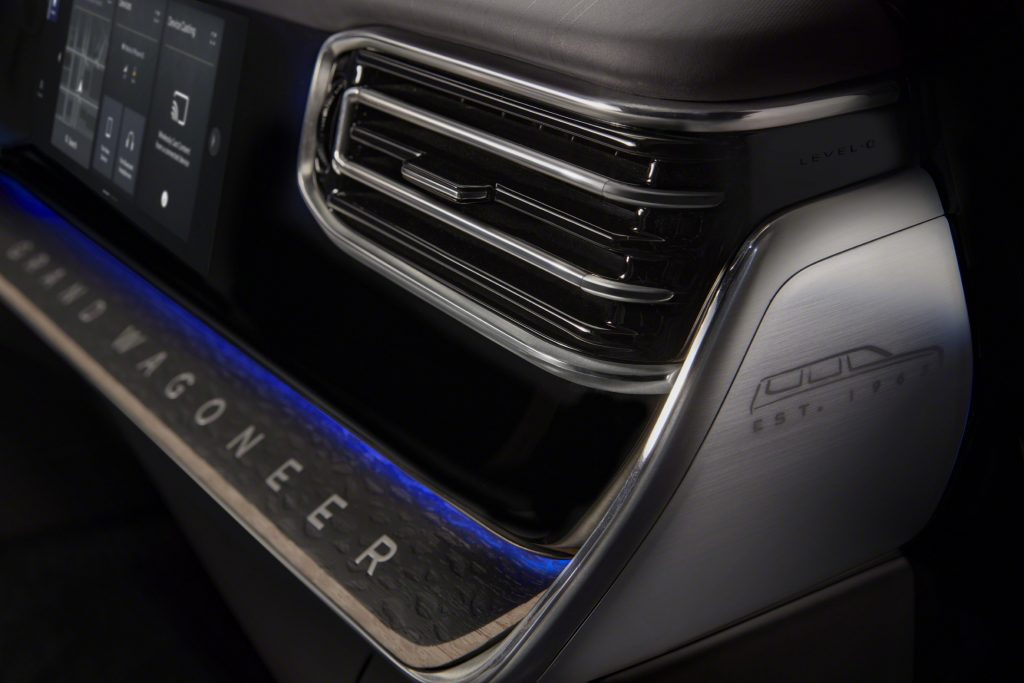 Grand Wagoneer Concept vent and easter egg