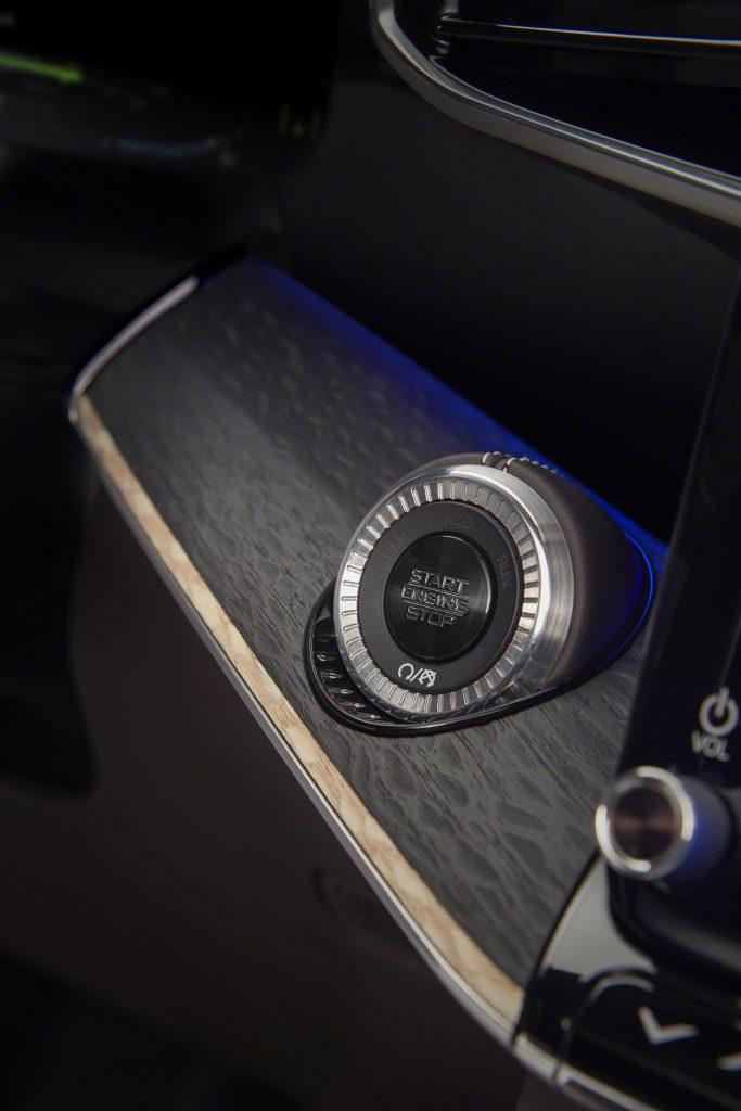 Grand Wagoneer Concept starter button