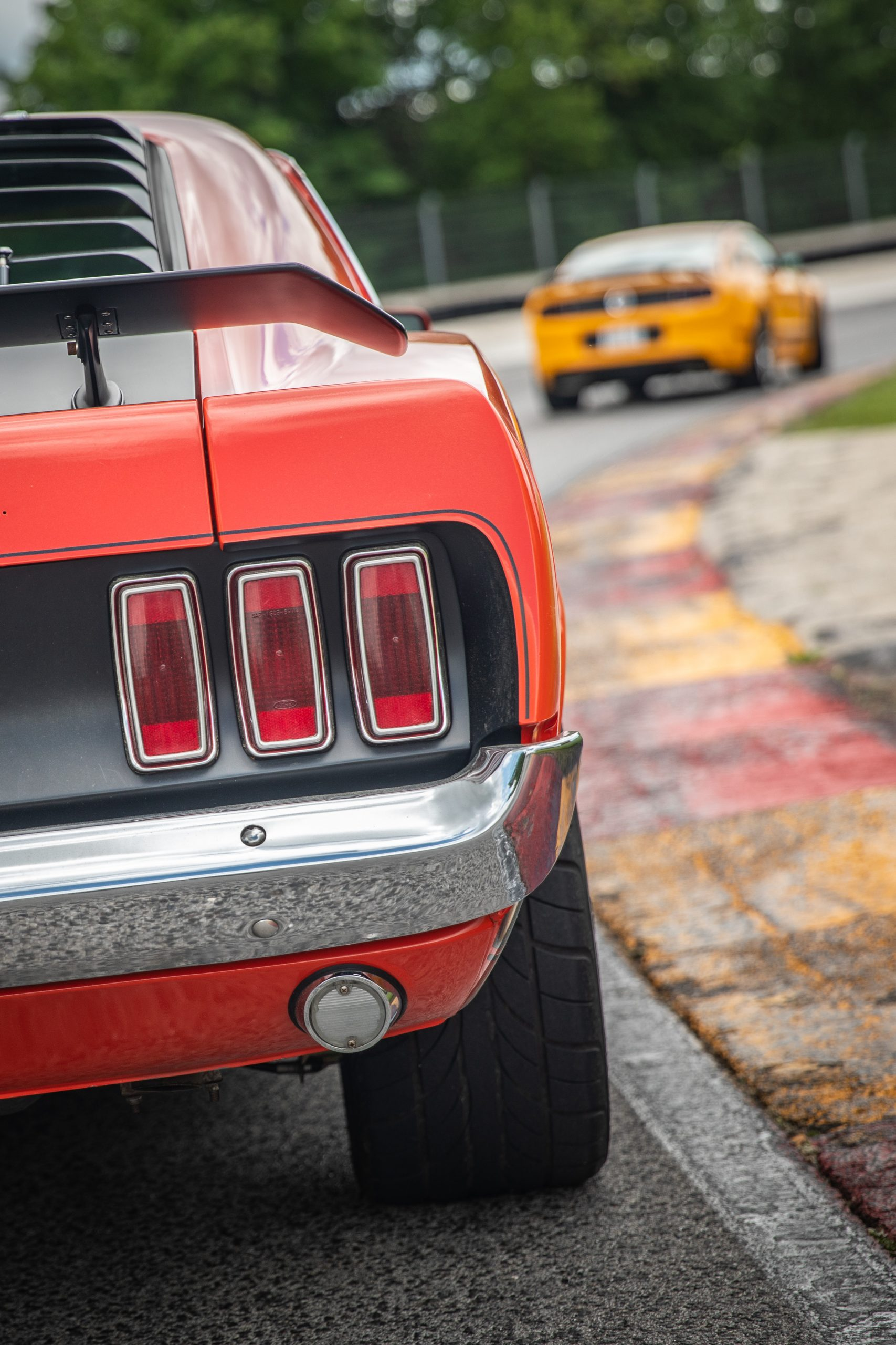 ford mustang boss 302 vintage taillight