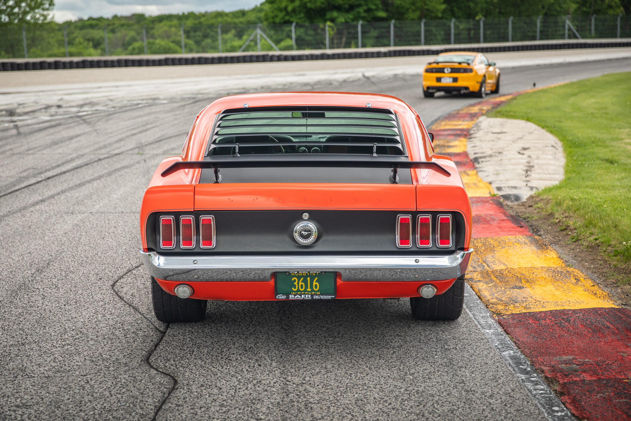 ford mustang boss 302 vintage rear