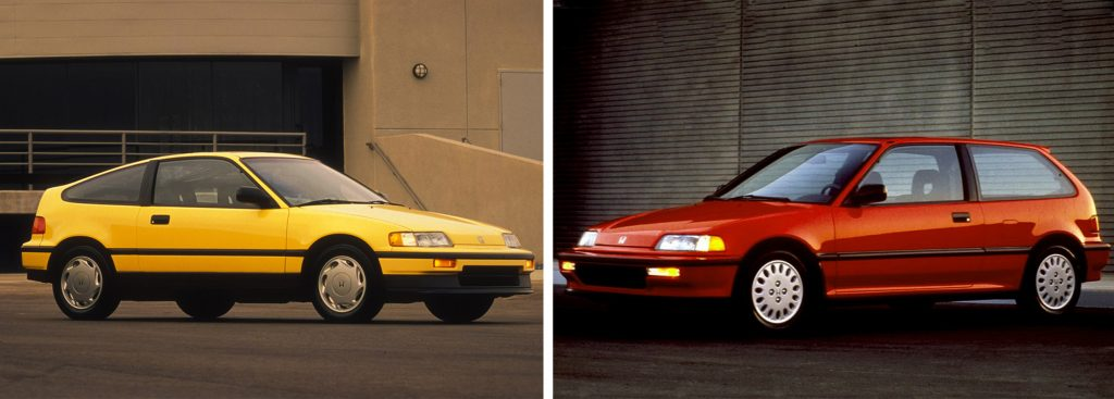 CRX si and Civic si
