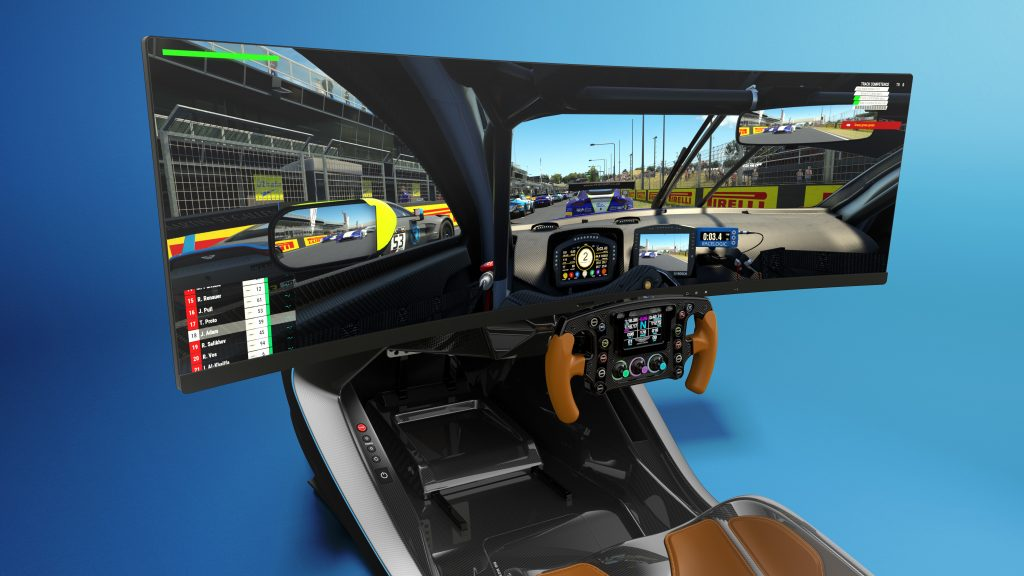 Aston Martin racing sim 2