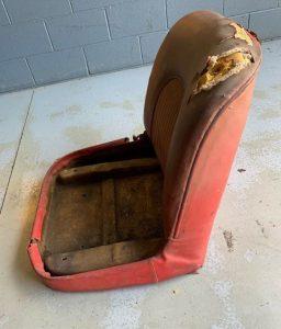 Corvette prototype seats - side view