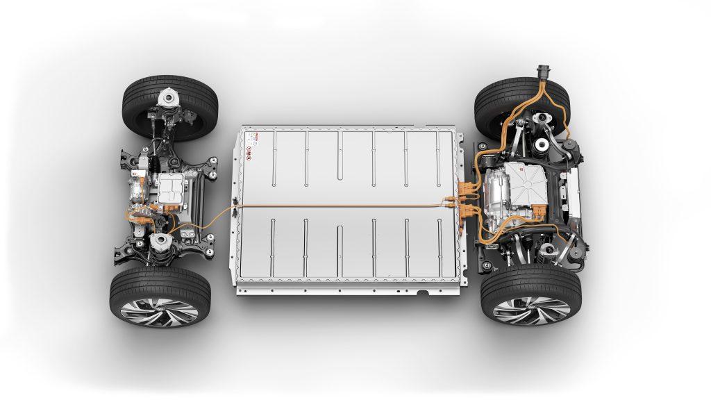 DB2020A2021 VW ID.4 electric SUV platform battery