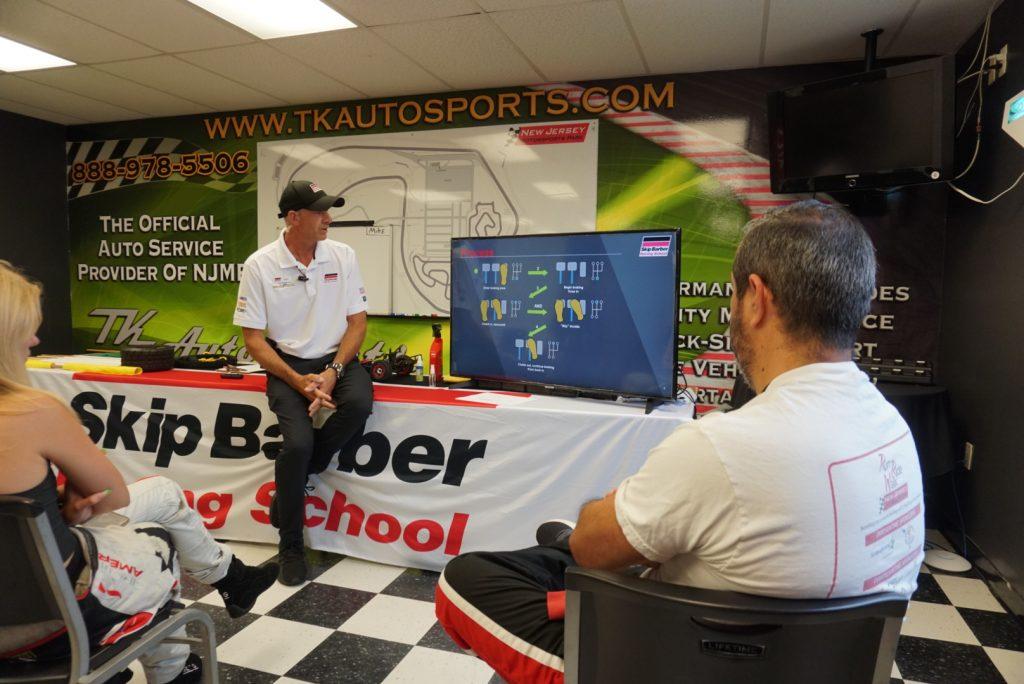 Skip Barber 3 day racing school classroom NJMP 2020