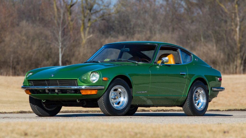 Datsun 240Z front three-quarter