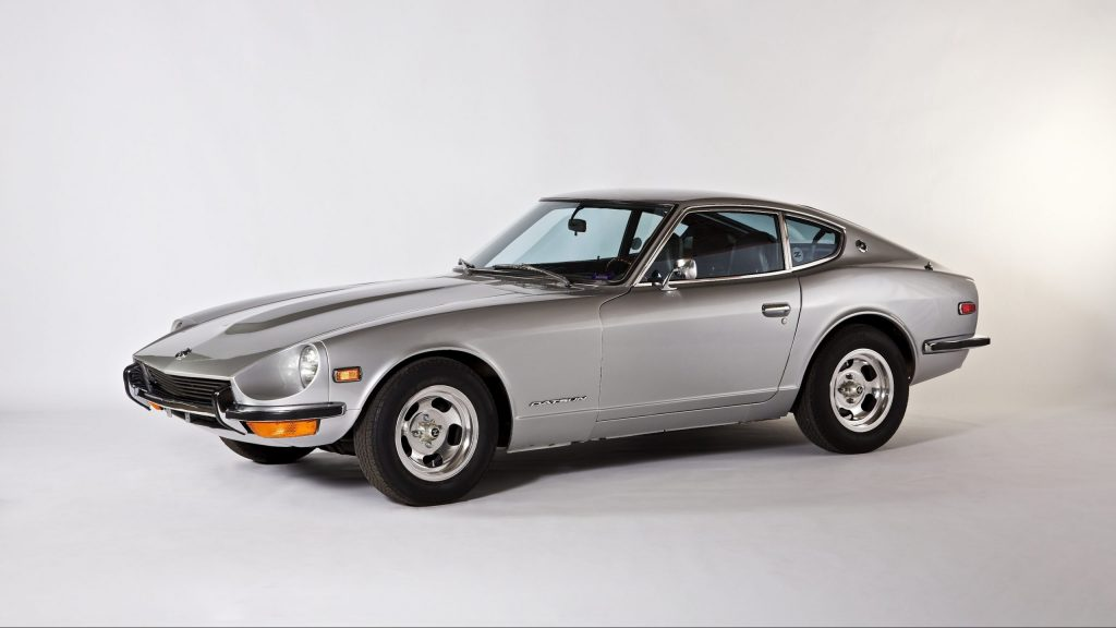 1971 Datsun 240Z front three-quarter