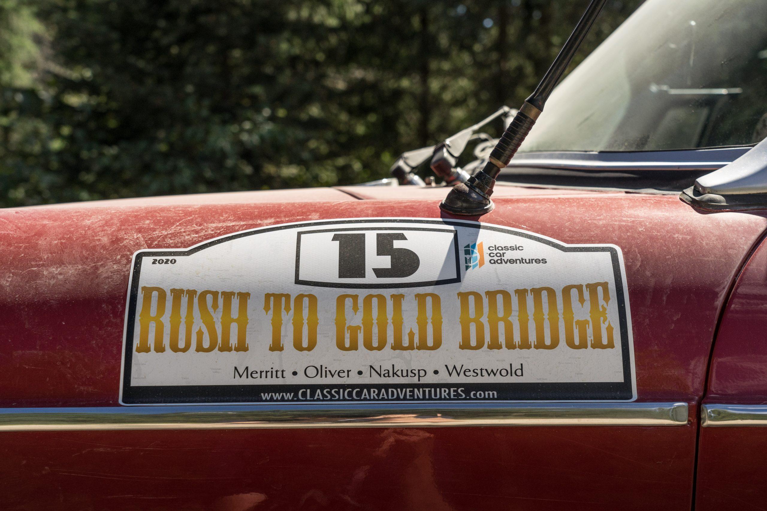 rush to gold bridge rally number