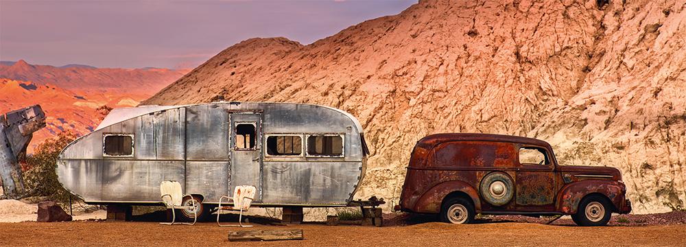 1946 Ford Panel Van Nevada USA