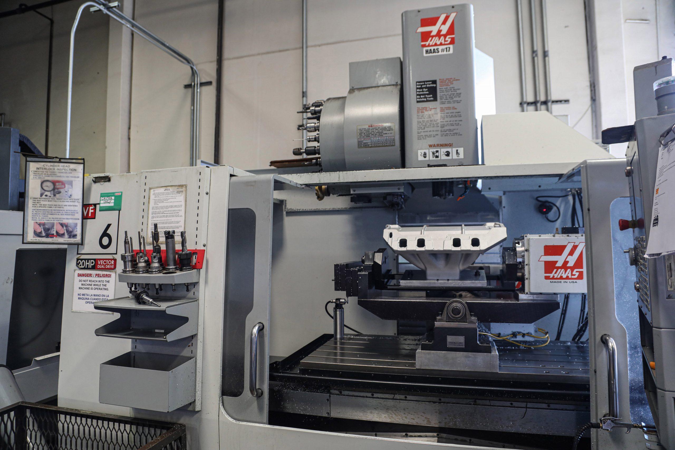Edelbrock-Foundry-CNC machine