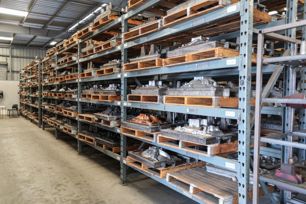 Edelbrock-Foundry-pattern storage