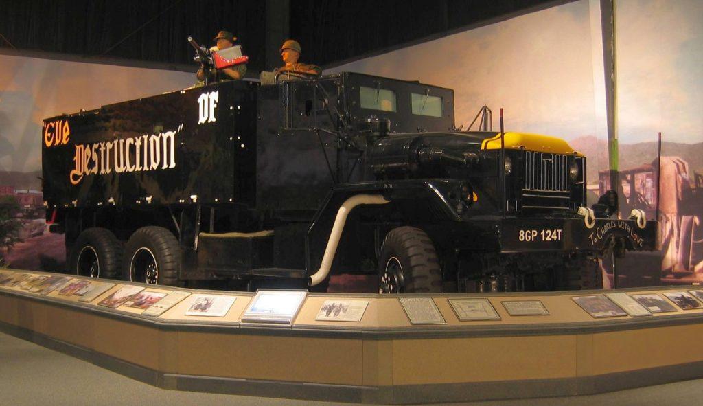 Eve of Destruction gun truck Museum Exhibition