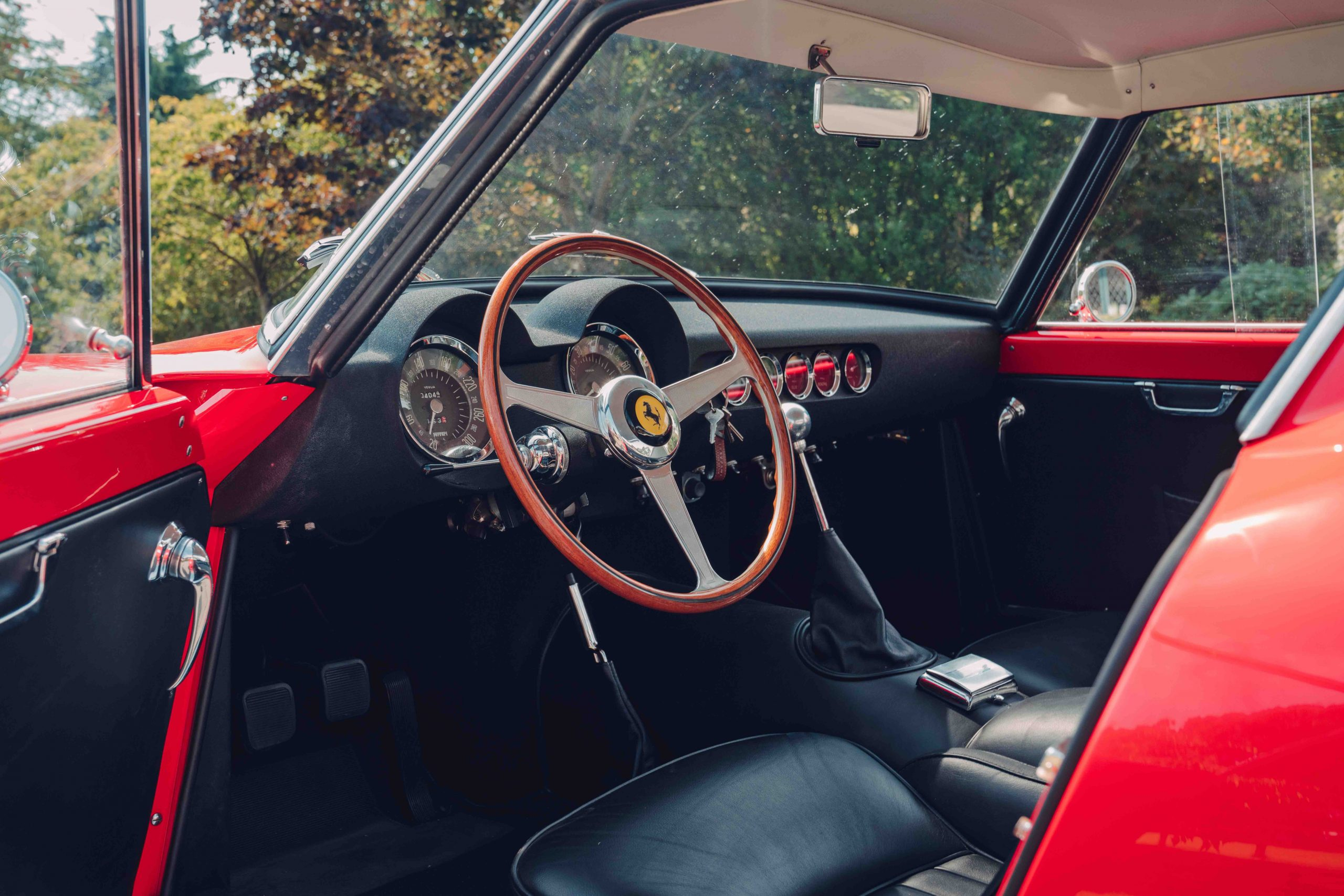 Ferrari 250 GT SWB recreation interior