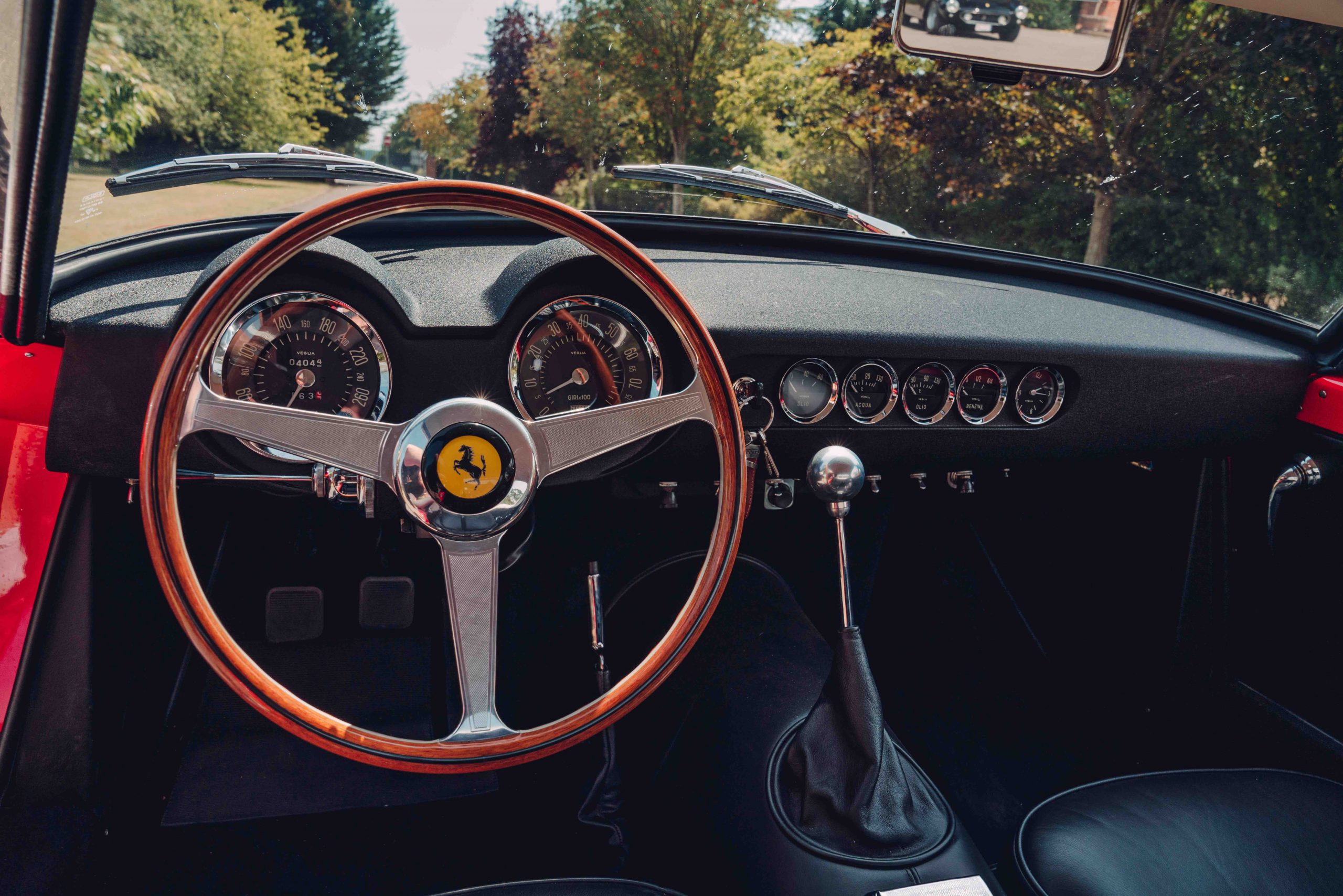 Ferrari 250 GT SWB recreation front interior