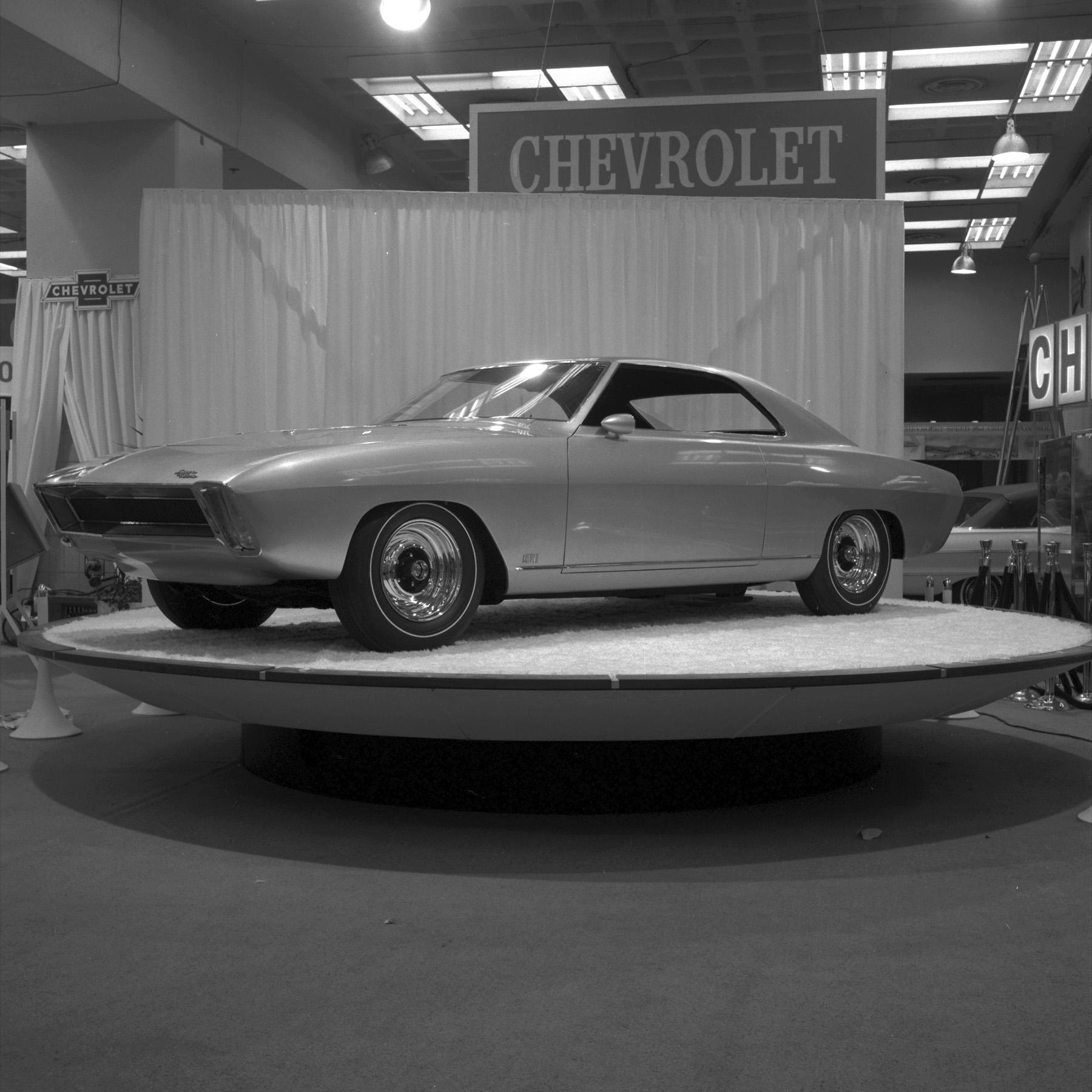 1964 Chevrolet Super Nova concept ny show front three quarter