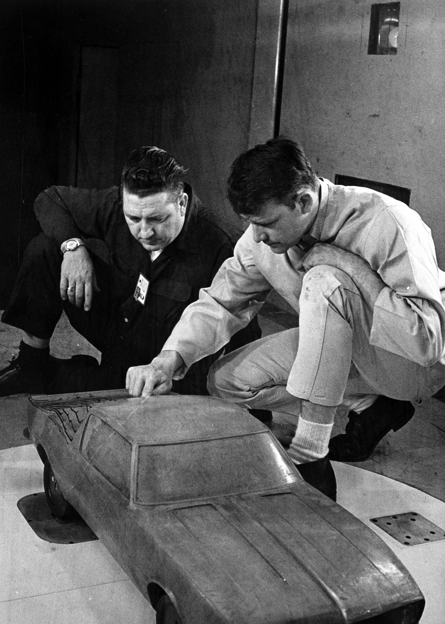 First Gen Camaro design clay model