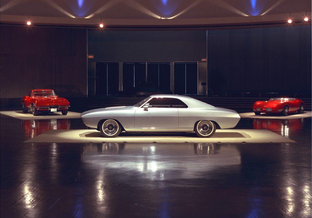 First Gen Camaro design side profile