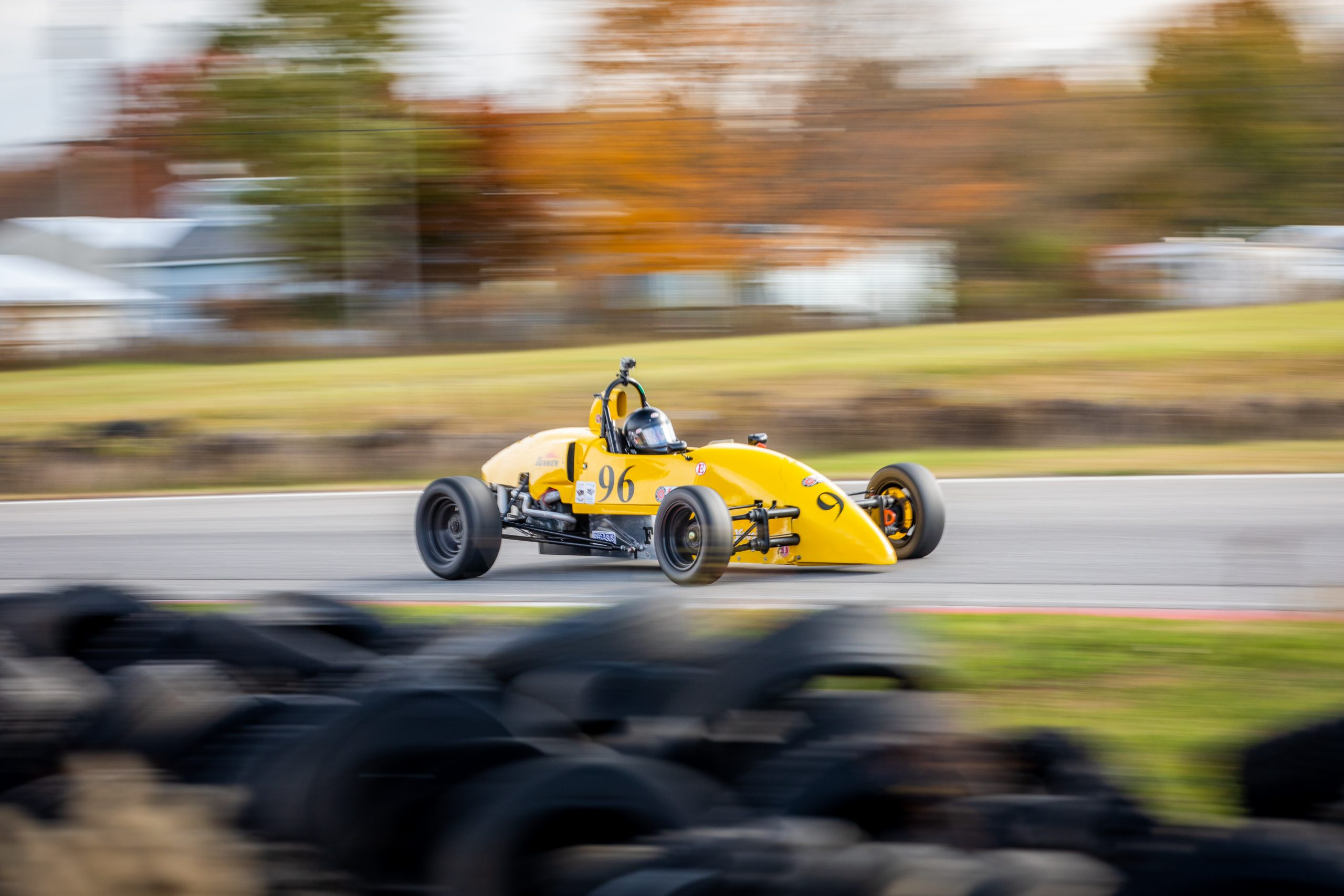 Formula First racecar dynamic action