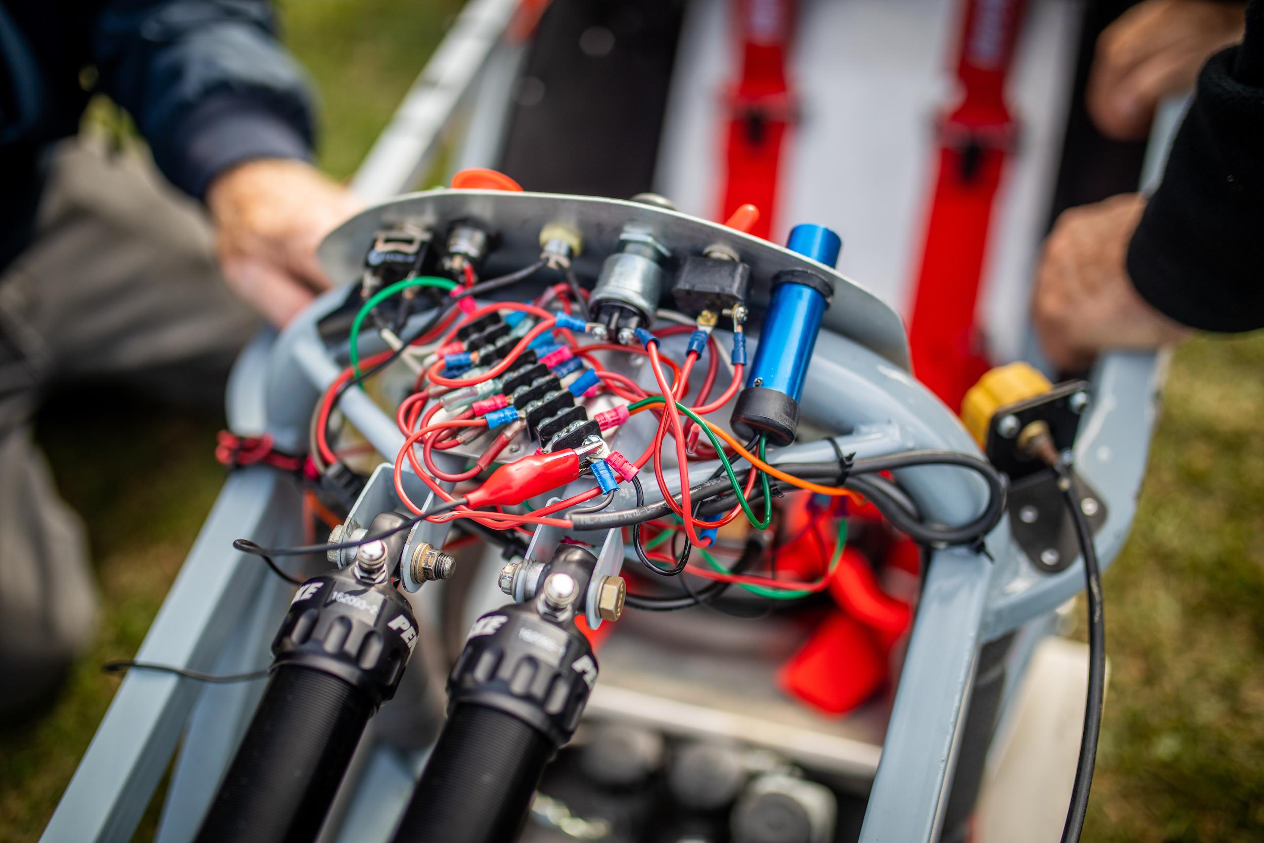 Formula First racecar eletrical