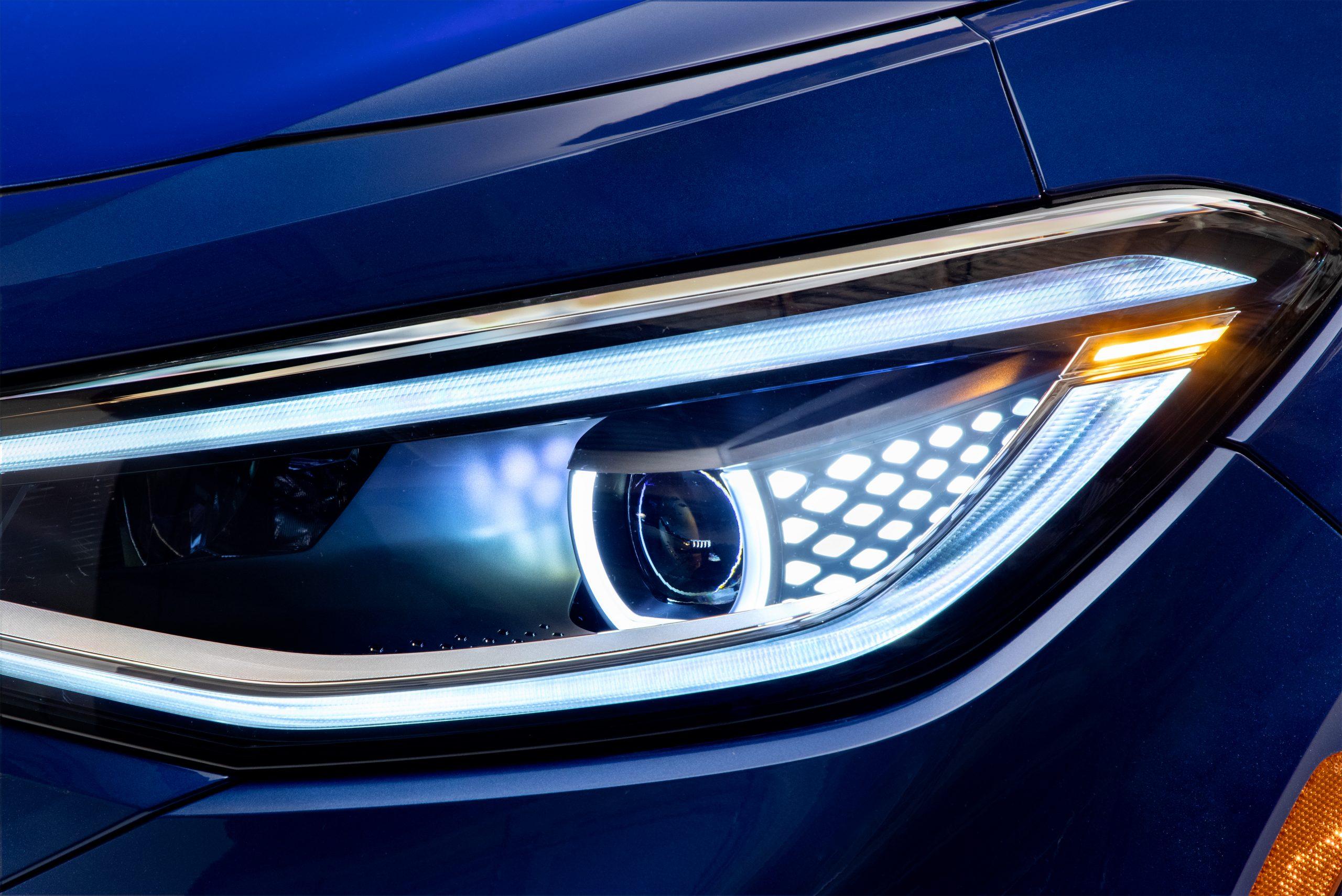 2021 VW ID.4 electric SUV headlight