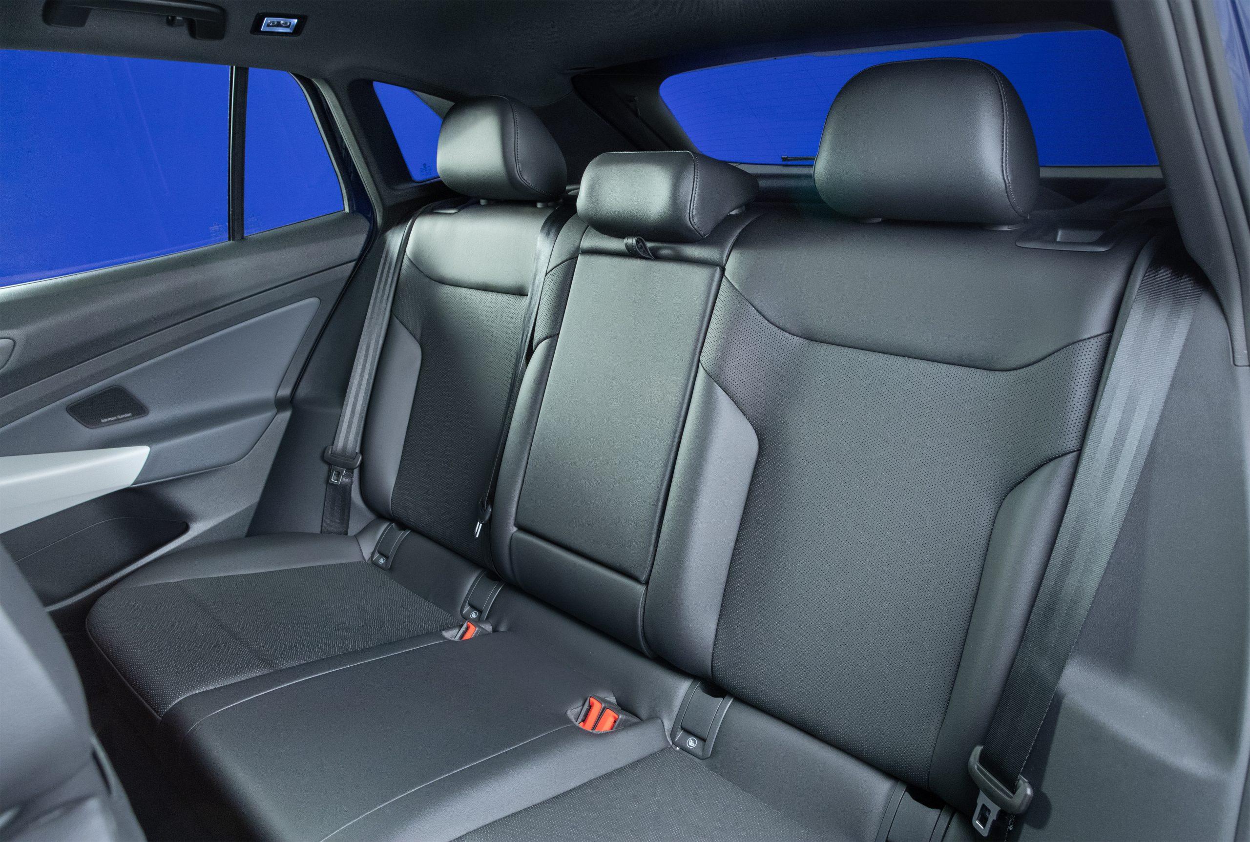 2021 VW ID.4 electric SUV back seats