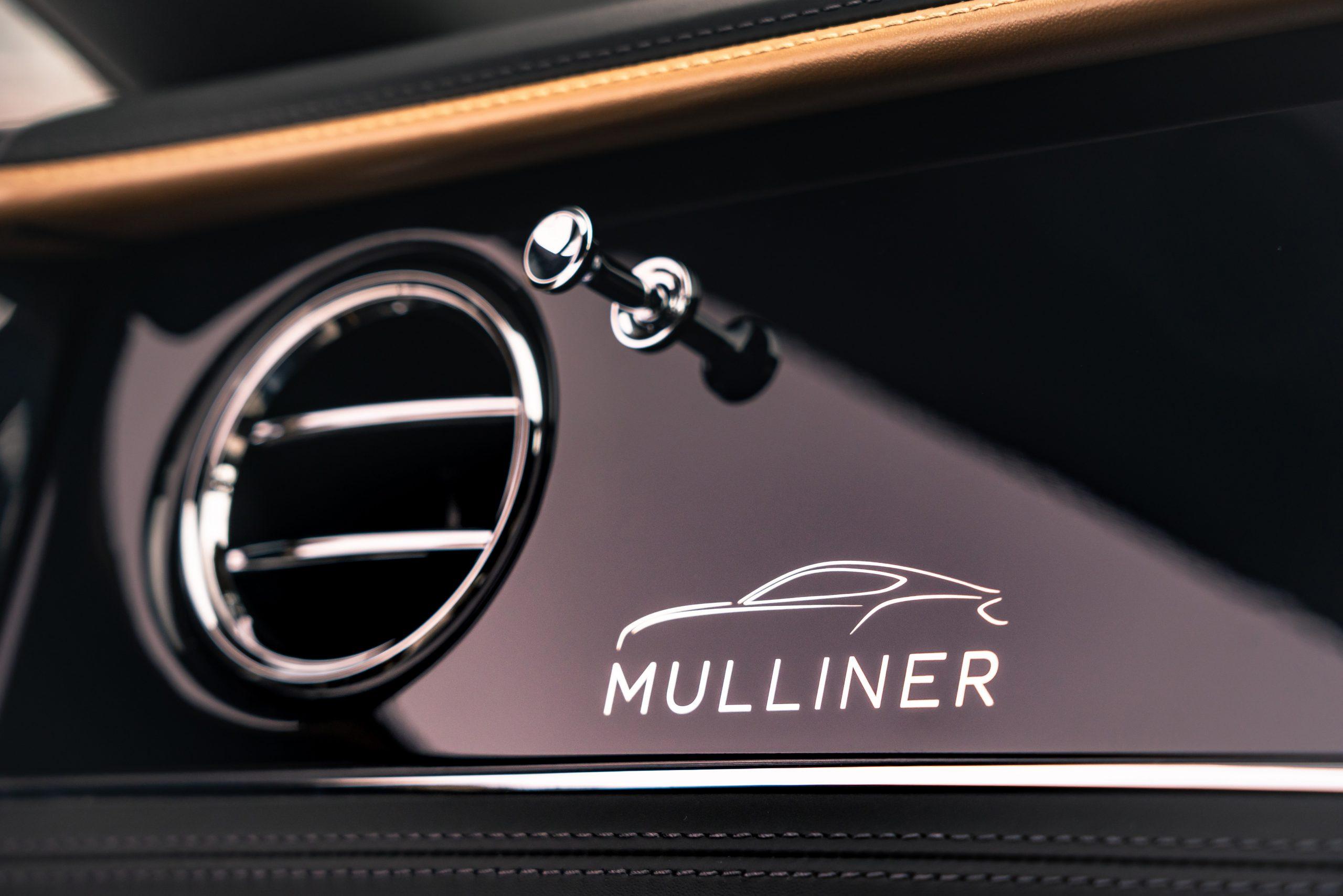 Bentley GT Mulliner silhouette graphic