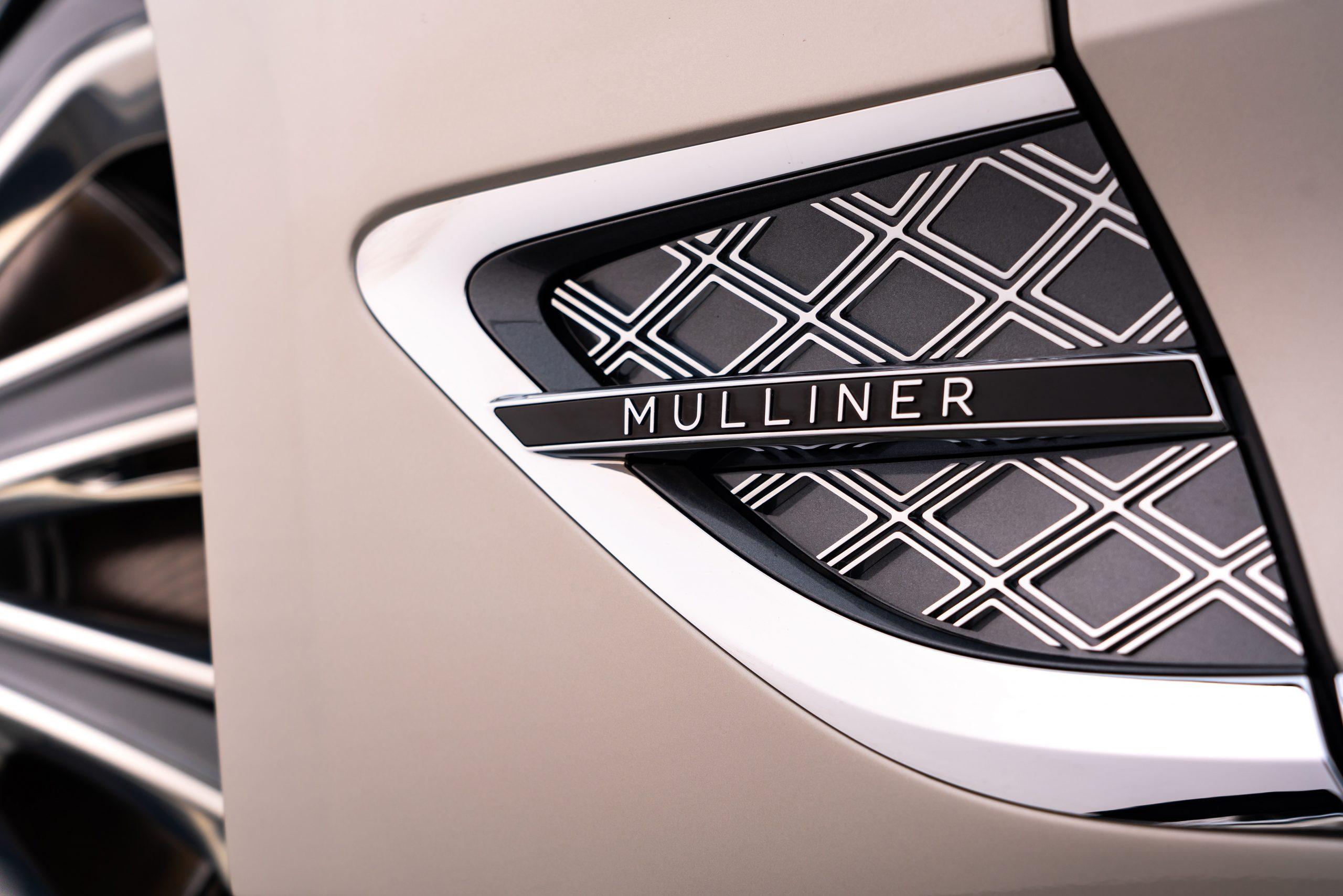 Bentley GT Mulliner body detail