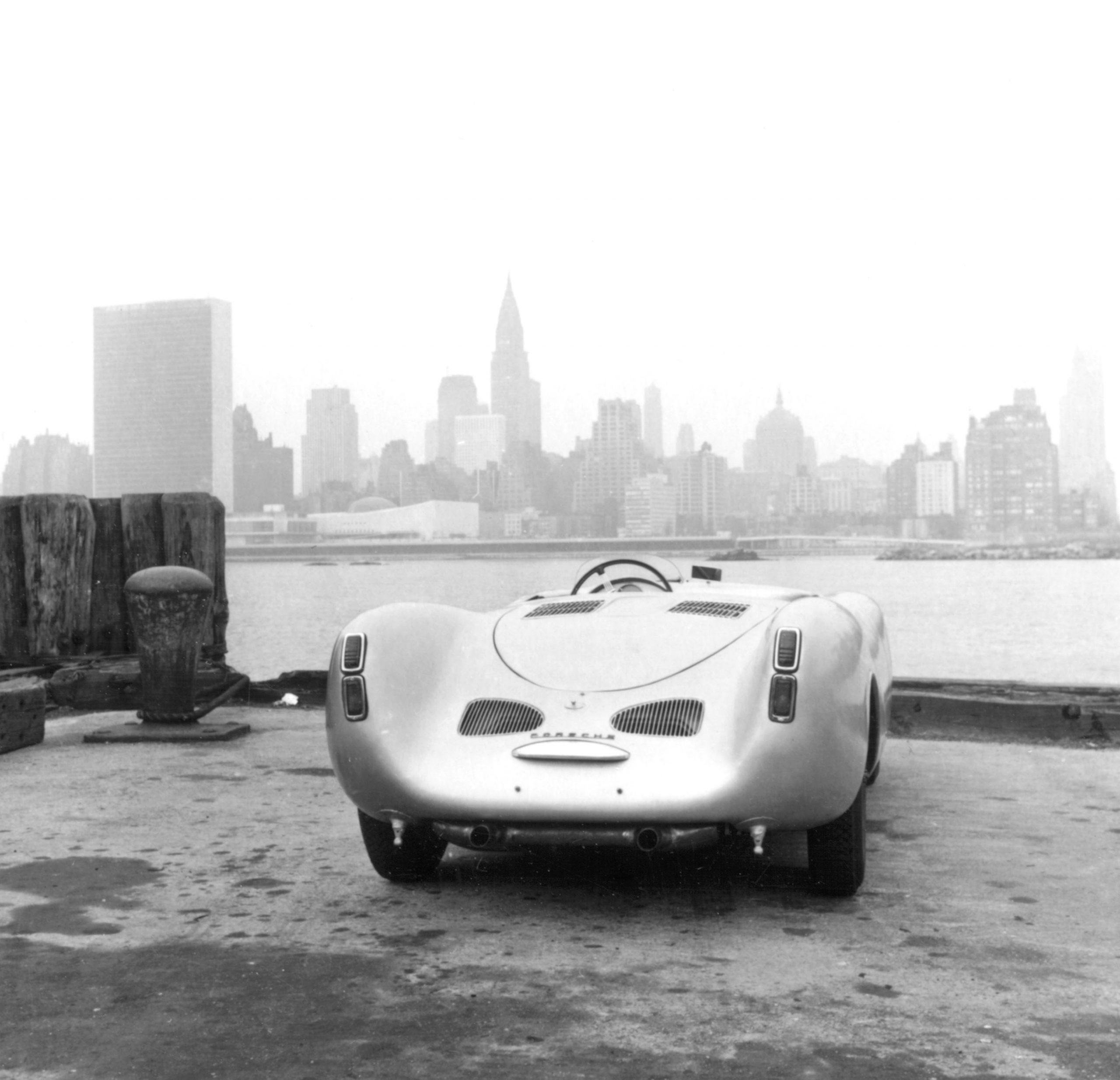 1953 carrera panamericana porsche 550 spyder new york city