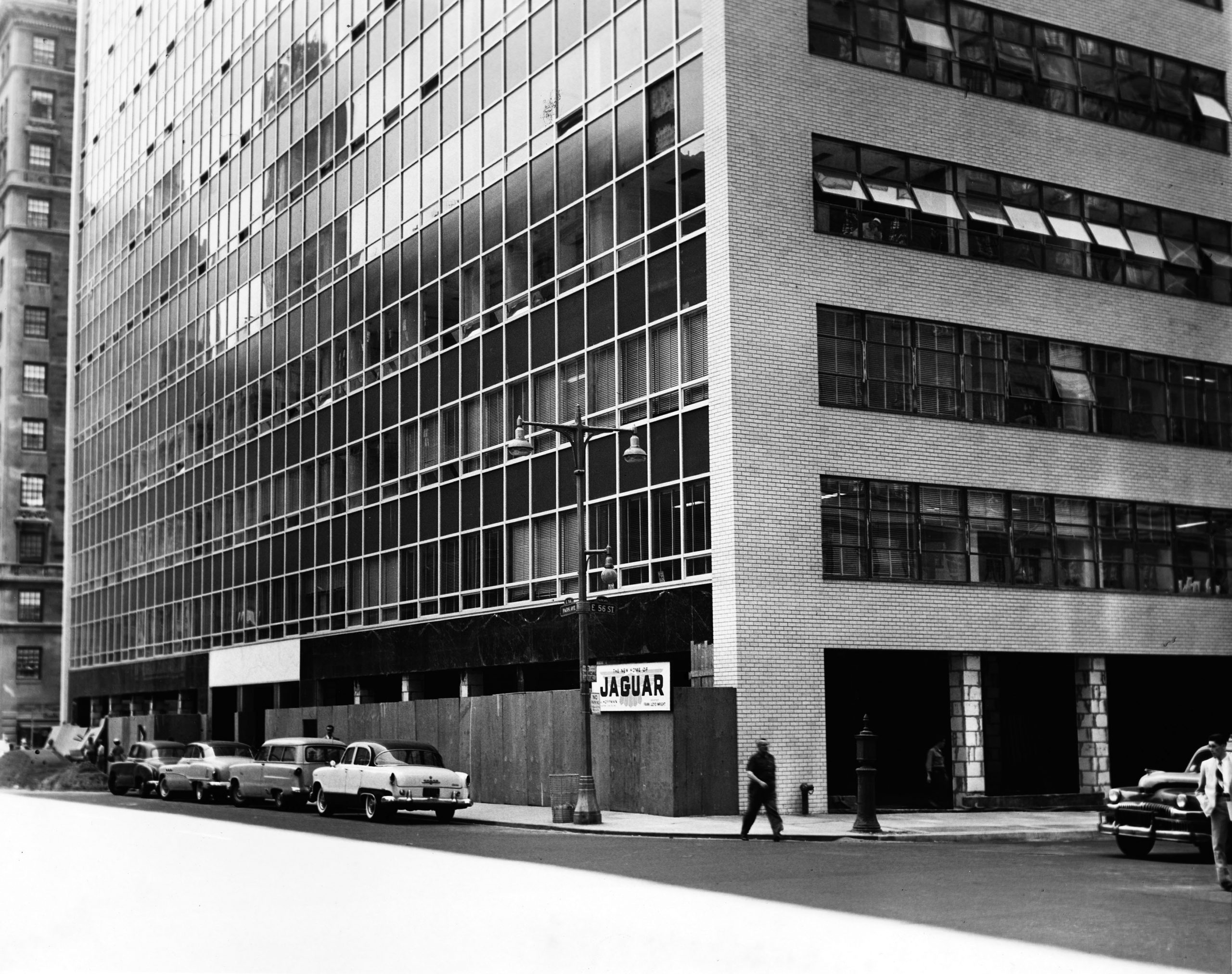 1954 1955 max hoffman new dealership showroom new york city
