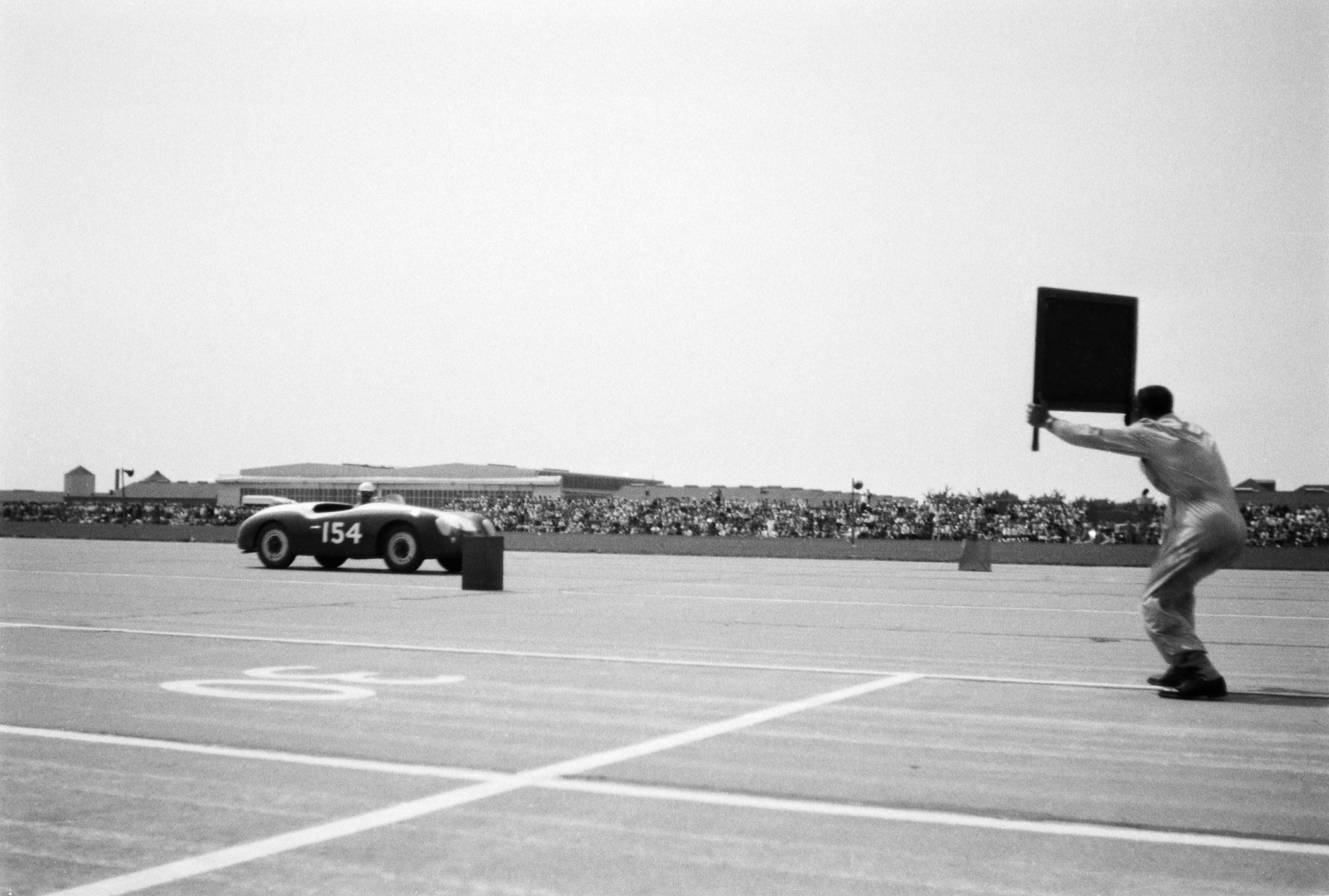 1953 porsche 356 roadster racing chanute kansas