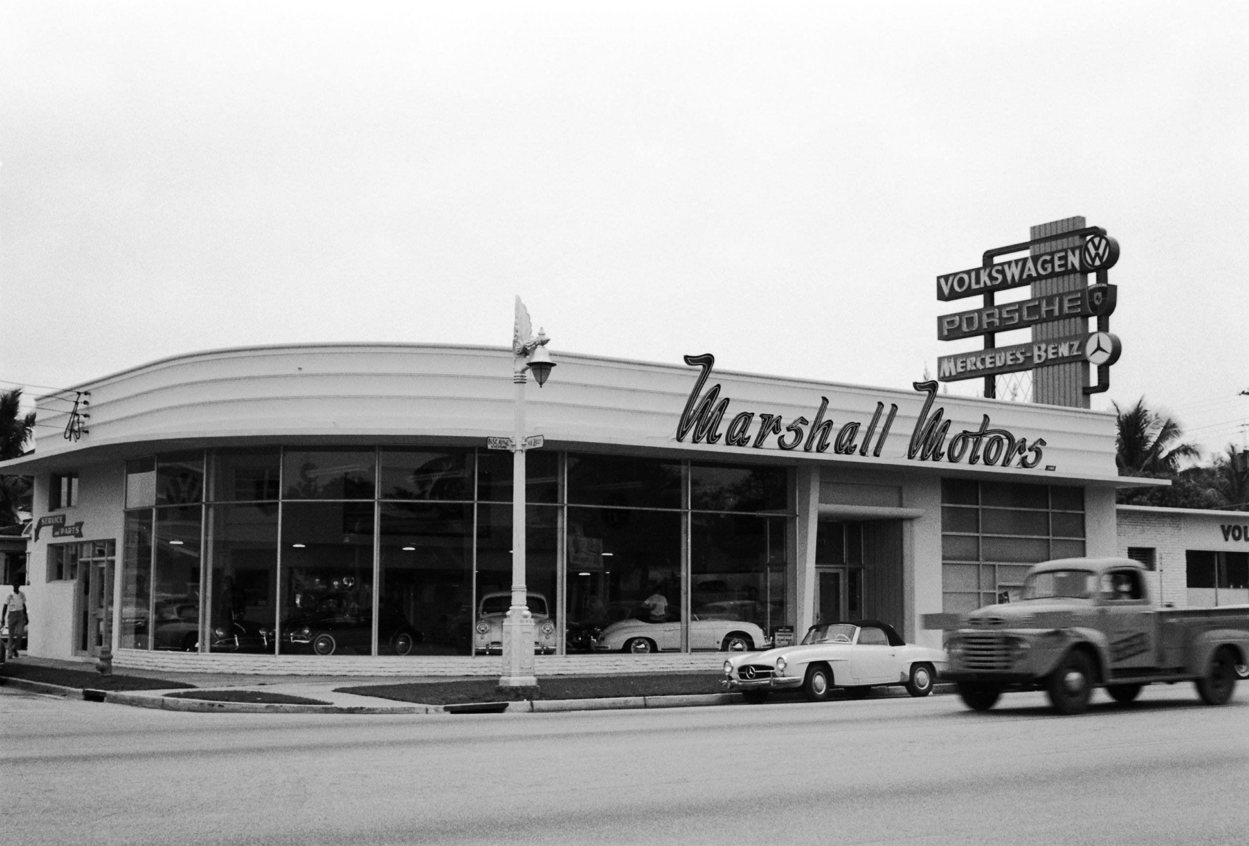1957 marshall motors miami florida