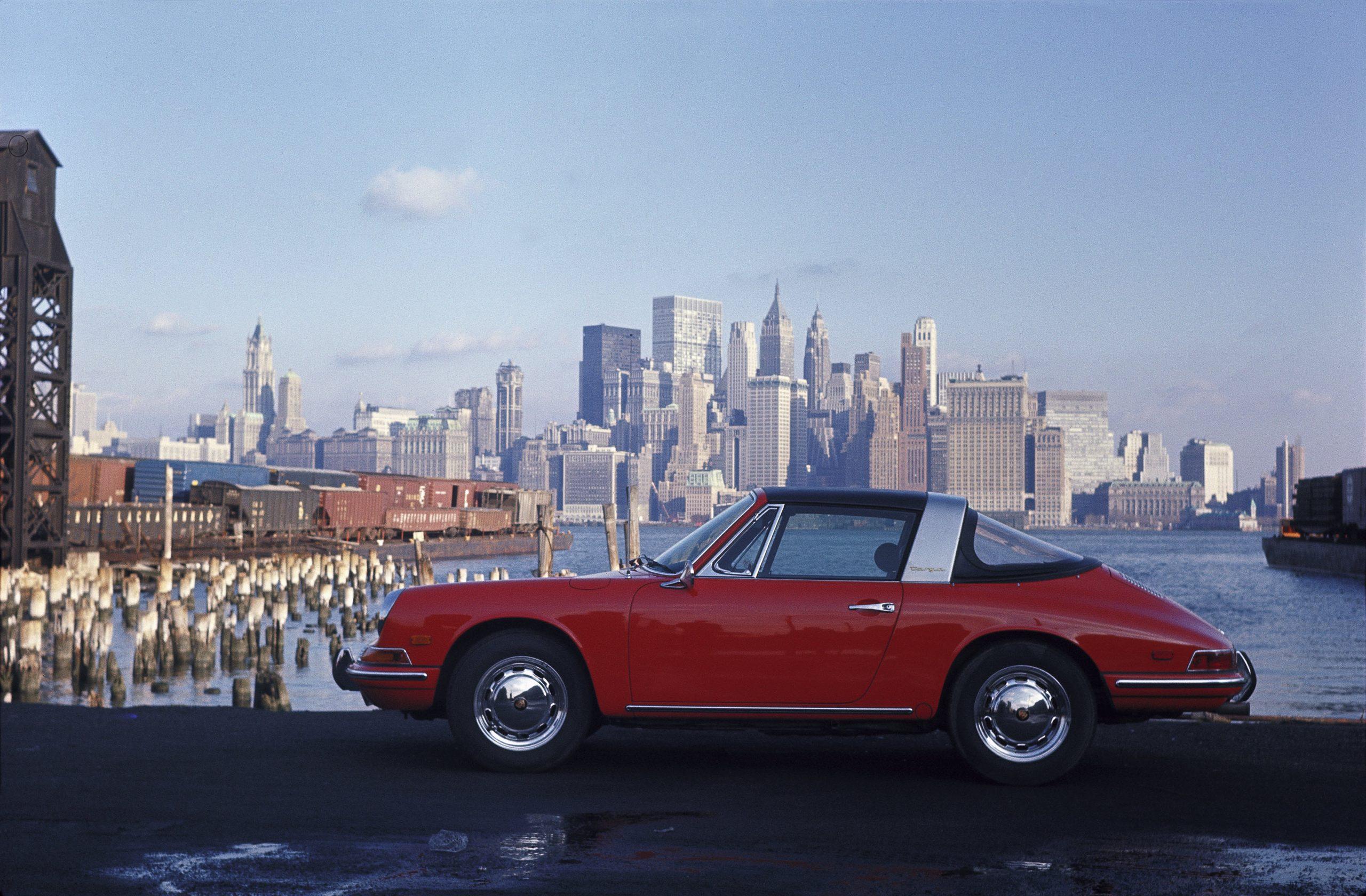 1967 new york 1968 model porsche 912 targa