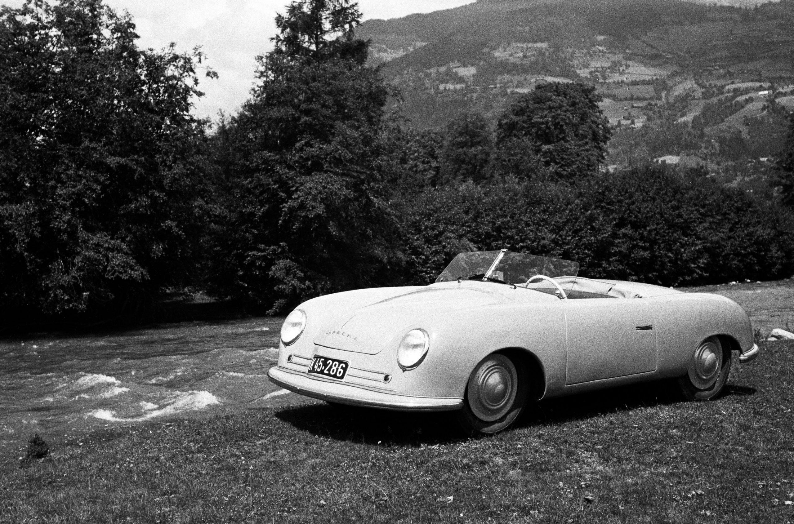 1948 porsche 356 number 1 roadster