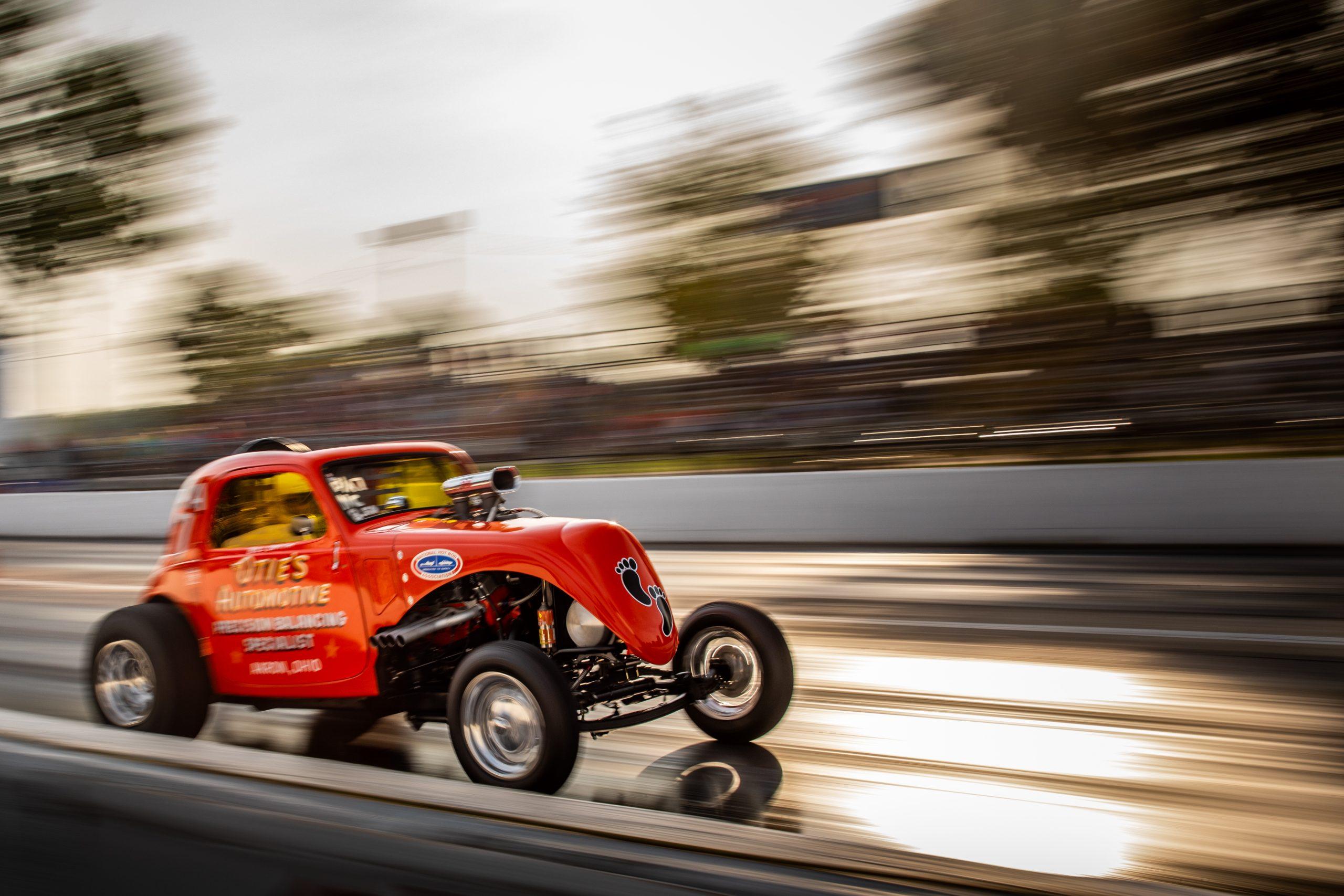 Milan Nostalgia Drags Fiat dragster