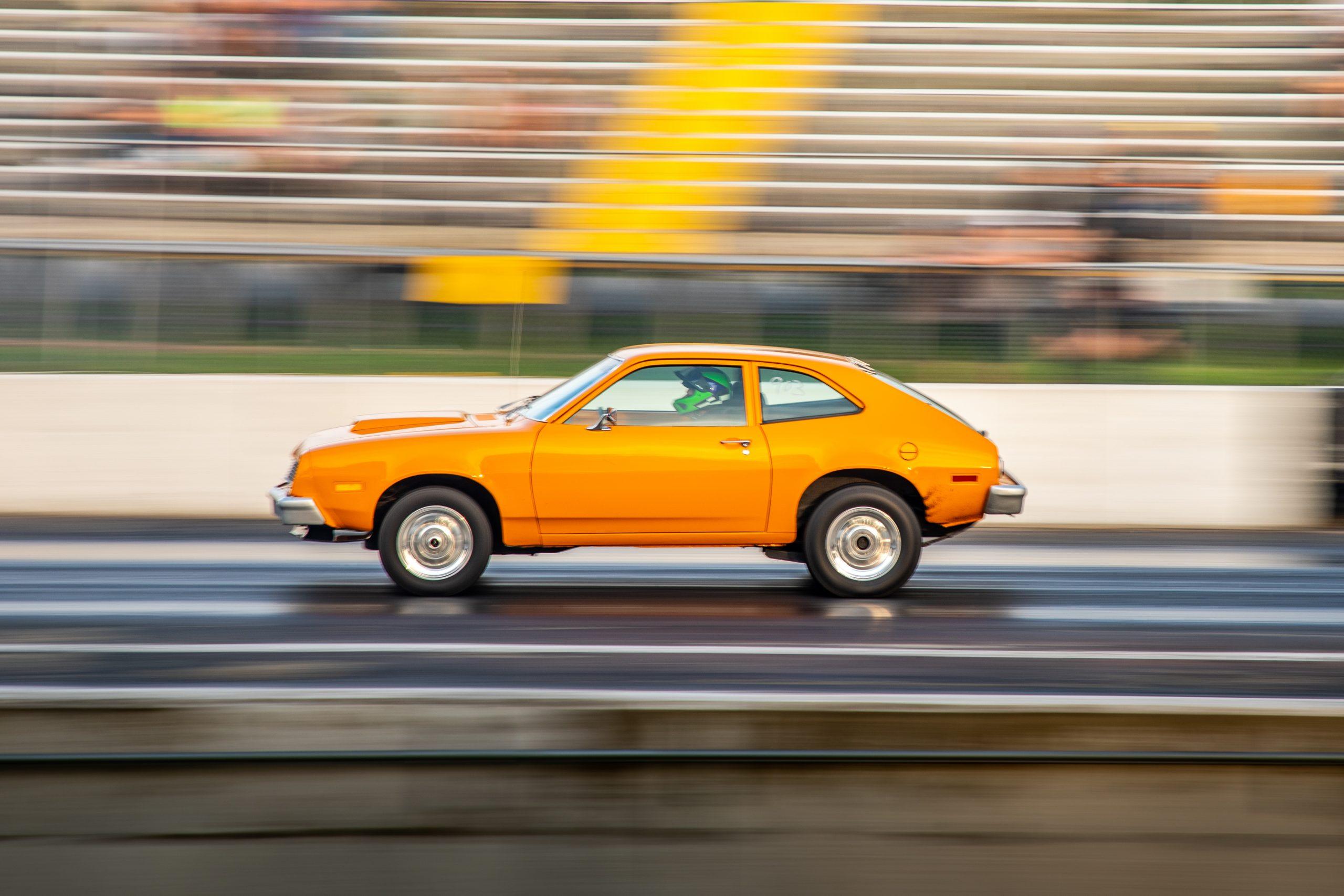Milan Nostalgia Drags Ford Pinto