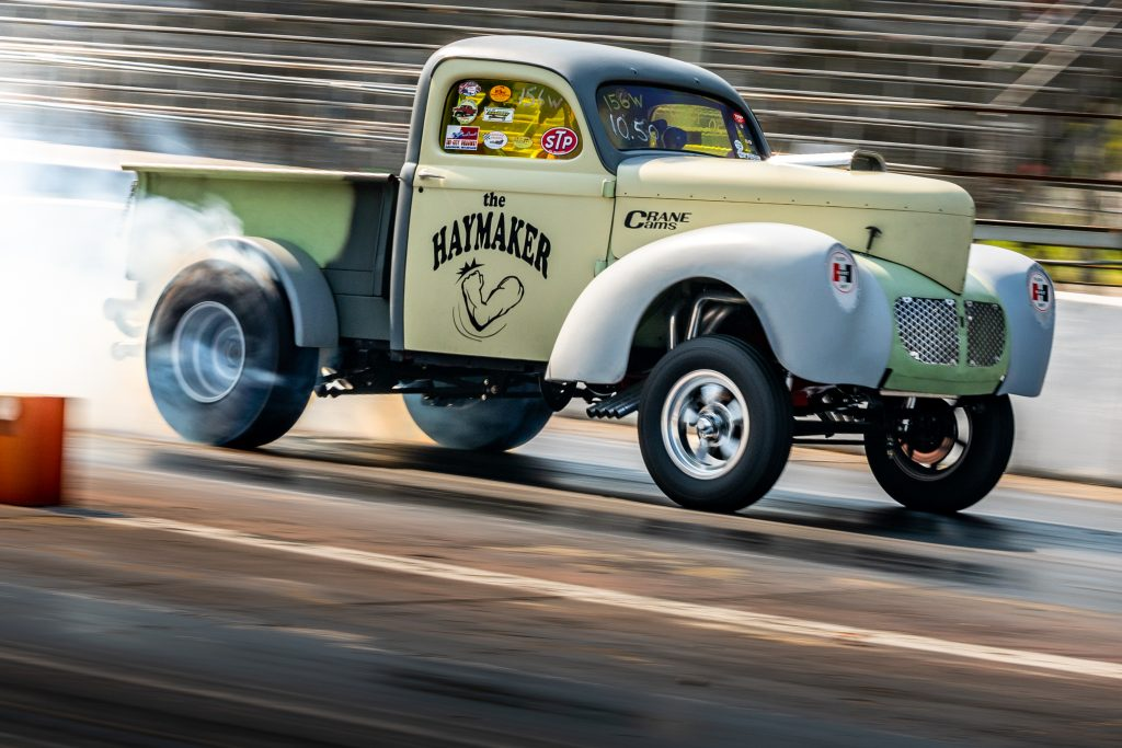Milan Nostalgia Drags Willys Truck Gasser
