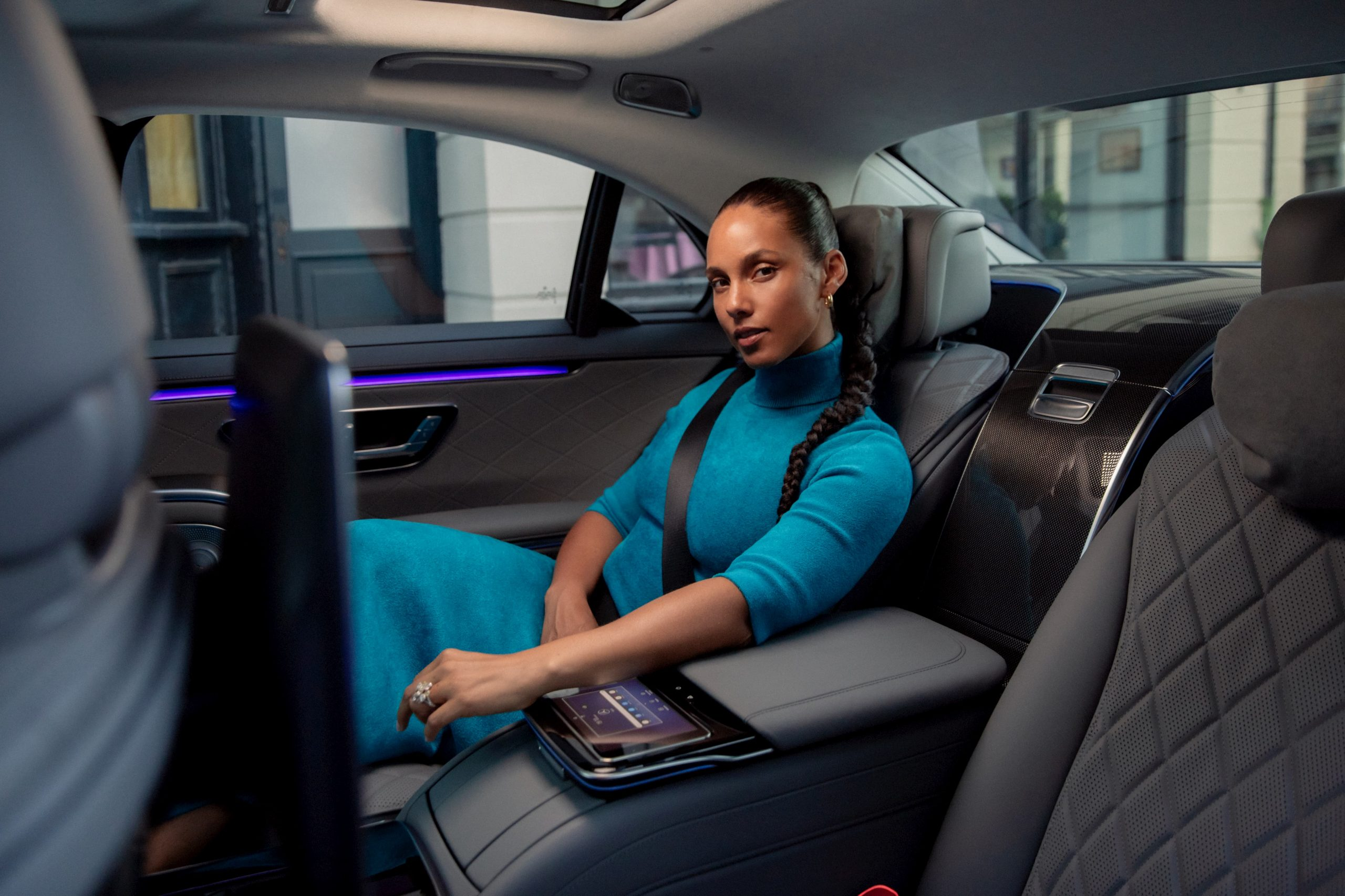Mercedes-Benz S-Class Alicia Keys