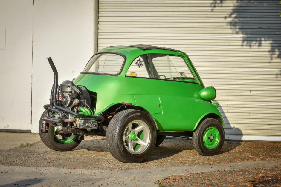 BaT VW-swapped Isetta rear three-quarter