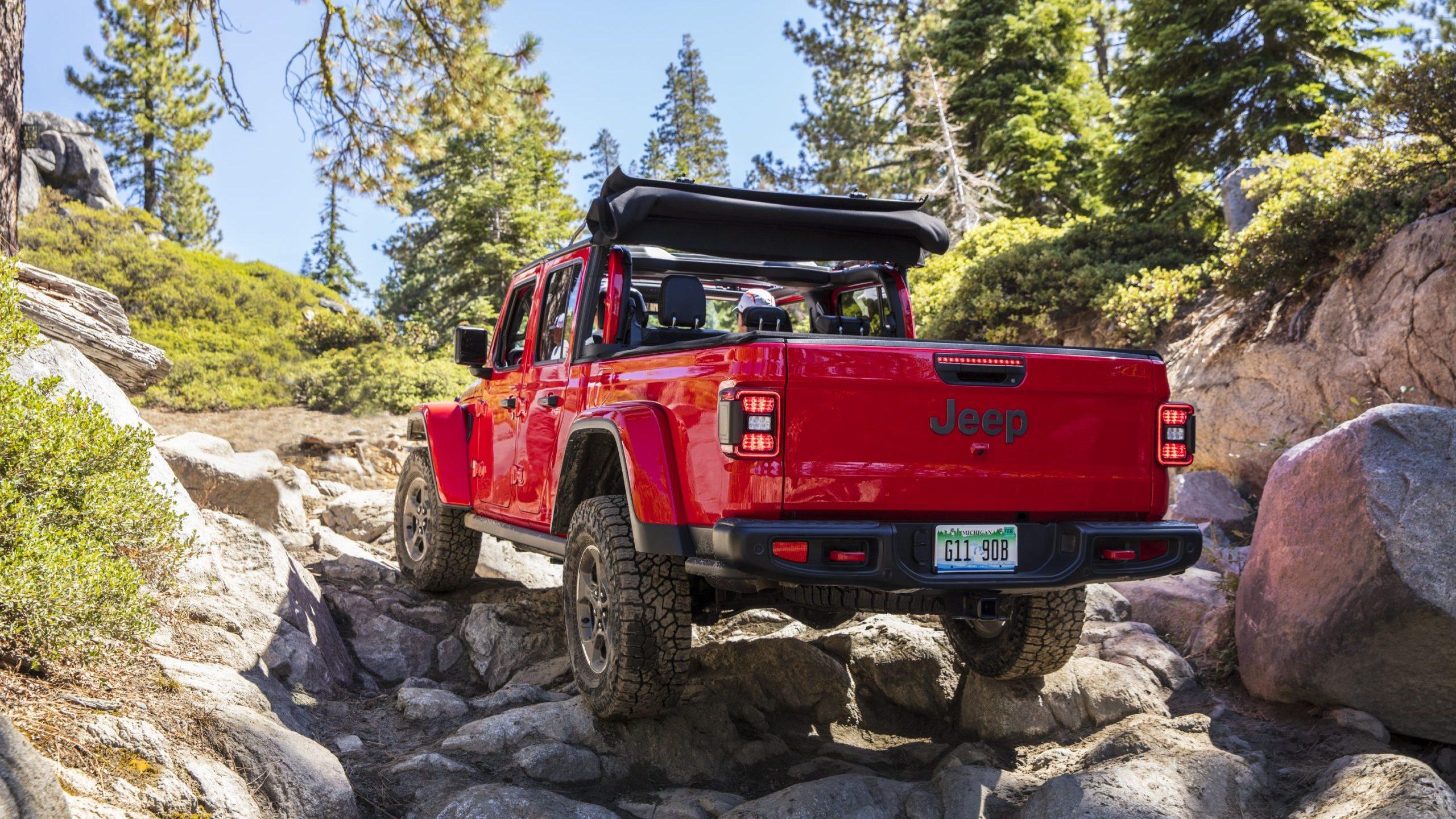 2021 Jeep® Gladiator Rubicon on the Rubicon Trail