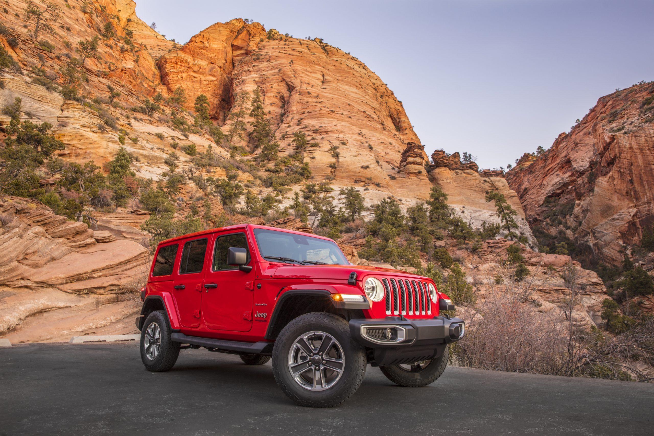 2021 Jeep® Wrangler Sahara EcoDiesel