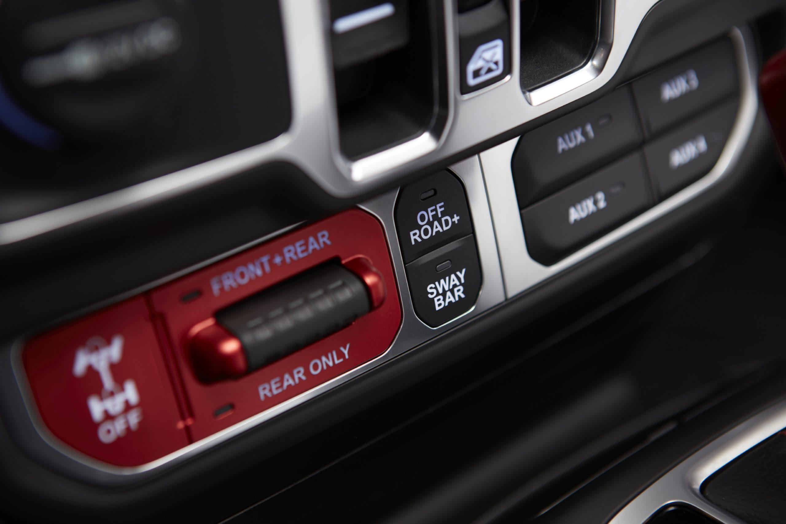2021 Jeep® Gladiator - interior