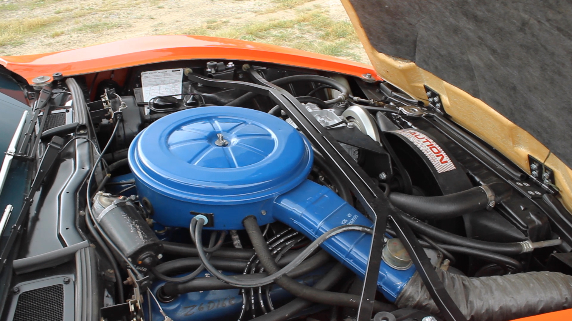 Bricklin SV-1 engine