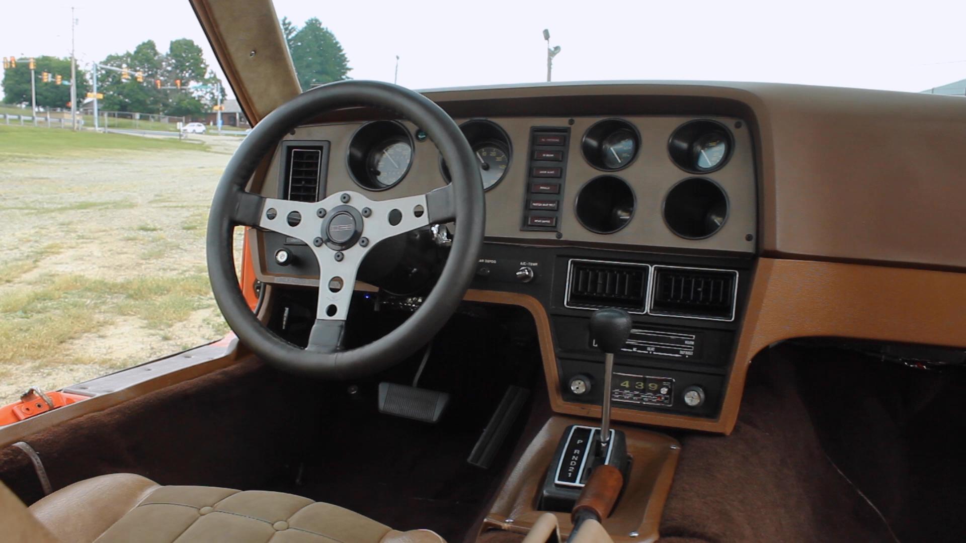 Bricklin SV-1 steering wheel