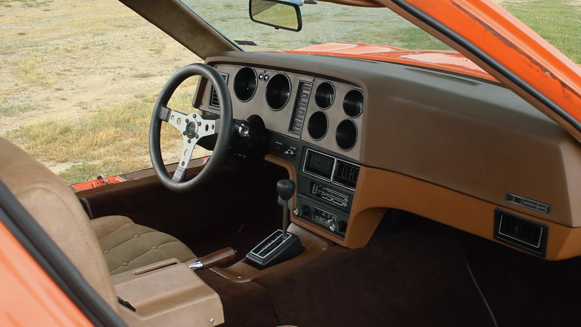 Bricklin SV-1 interior