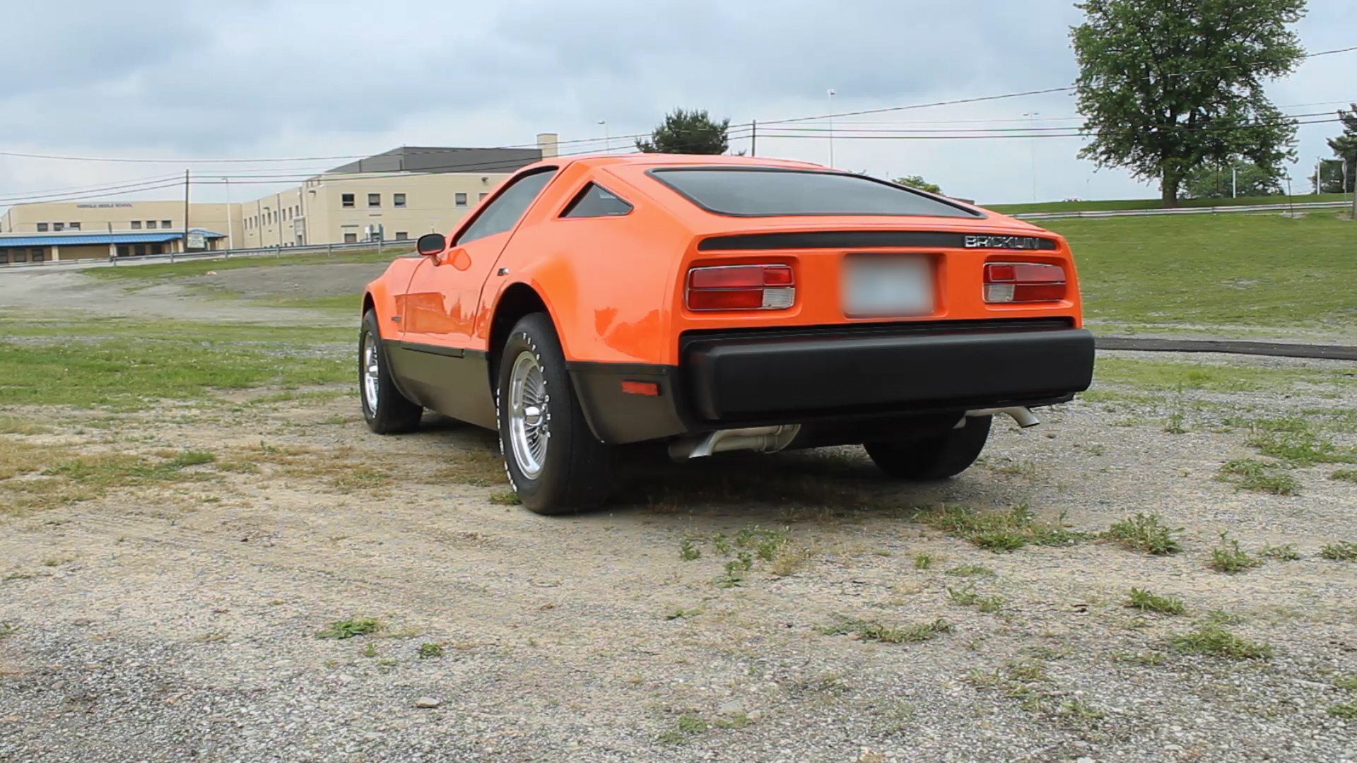 Bricklin SV-1 rear three-quarter
