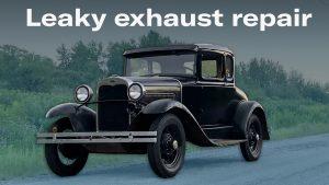 Model A exhaust fix adventure (detours ahead)   Kyle's Garage – Episode 10