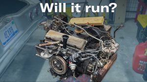 Chevy Corvair flat-six engine: Will it run?   Kyle's Garage – Ep. 11