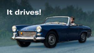 Austin-Healey project car: diagnosing problems   Kyle's Garage – Ep 12